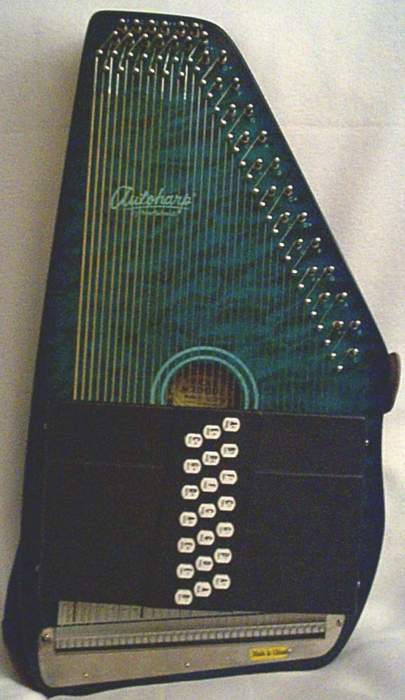pic of wg's blue Oscar Schmidt 21-bar autoharp